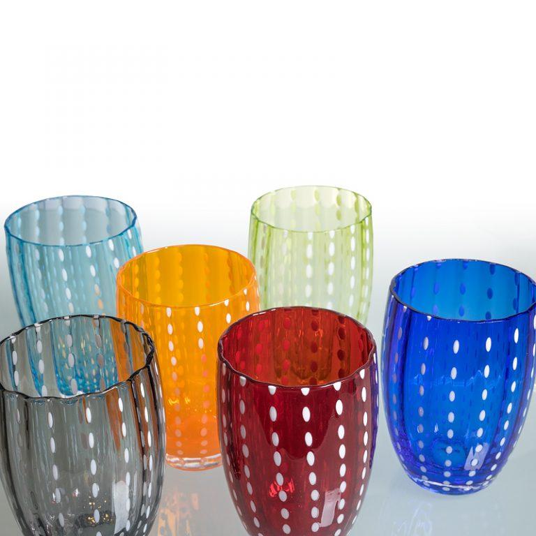 Zafferano Trinkglas Perle